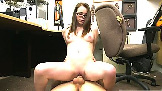 Amateur couple girlfriend and big tit dressing room striptease and