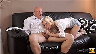 Cock Mad Cheating Teen Fucks Her Boyfriend'_s Father