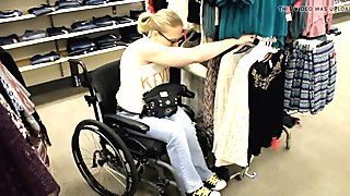 SB bodycast wheelchair