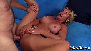 Golden Slut - Sexy Mature Women Getting Plowed Compilation