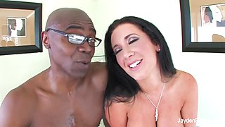 Jayden Jaymes Interracial With Sean Michaels