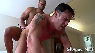 Unfathomable anal hammering with lusty homo dudes