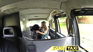 FakeTaxi Blonde Polish babe with hot body and tits gets fuck in a taxi