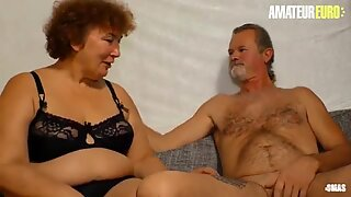 AMATEUR EURO - BBW German Granny Heike R. Fucks Hardcore With Hubby