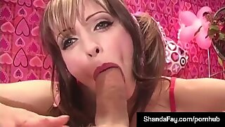 Horny Housewife Shanda Fay Gets molten Valentine ass-fuck internal cumshot