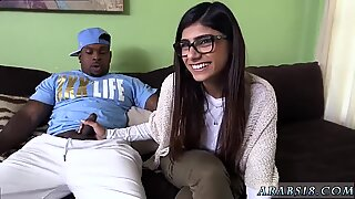 And girl blowjob Mia Khalifa Tries A Big Black Dick - Mia White