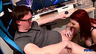BBW Lucy Lane Gets Friendly Sucking Cock