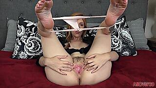Mature Lady With Panties In Cunt - Lauren Phillips