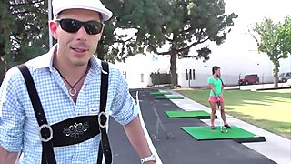 MAGMA FILM Golfing Abby Cross