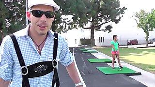 MAGMA FILM Golfing Abby Cross