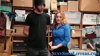 Real milf domina mall cop