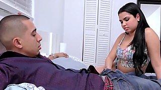 Two latina beauties get their fair share of guys fat cock