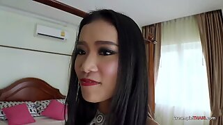 Super horny 19 year old petite thai girl