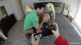 Behind the scenes GoPro fun with Lolly Ink