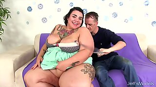 Sexy BBW Mia Riley gets her ass fucked