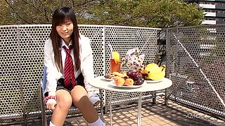 Asian chick loves to get jism in her magic mouth