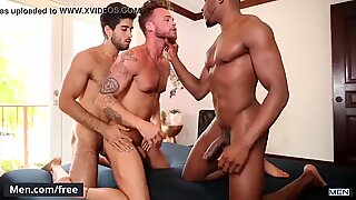 Diego Sans and Max Wilde and Phoenix Fellington - Tre Sesso - Gods Of Men - Men.com