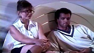 Ashlyn Gere Jon Dough in lustful eighties porn babe seduces naive guy