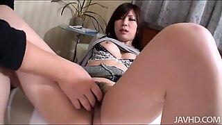 Toying japanese babes wild vagina