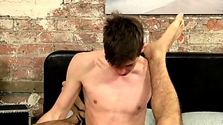 College boys amateur gay porn Luke Takes Long Cock Up His Ho