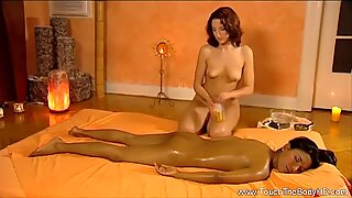 Lady Massage Fulfilled by Touch