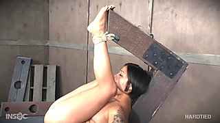 Sweet Asian chick gets inbound and humiliated hard