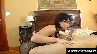 Mega Milf, Deauxma, Has Boy Toy Over For Deep Ass Fucking!