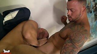 Sean shoves his cock into Killian &amp_ the ass-pounding ensues