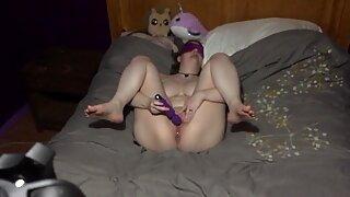 Little Slut and her vibrator 3