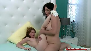 Teen Marie McCray and busty milf Anastasia Pierce lesbosex