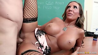 Richelle Ryan is a fucking horny bitch that loves huge cocks!