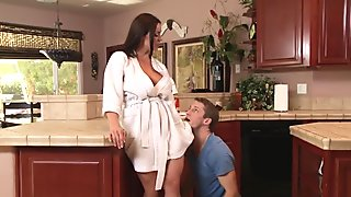 Mommy Got Boobs: Sneaky Mom. Kendra Lust, Brick Danger