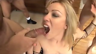 Girls Eating Cum
