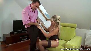 Anal German Blonde MILF Rough Fuck