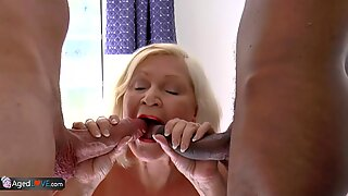 AgedLovE Lacey Starr Duo Cock Sucking And Hardcore