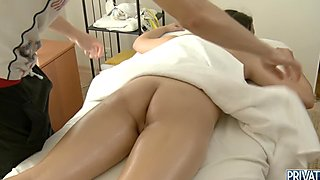 Massage hardcore sex movie scene