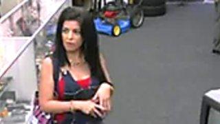 Shop Owner Fucks Hot Cuban Mamacita