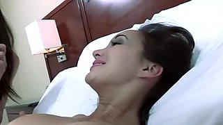 ManuelFerrara Hotel sex with French pornstars Katsuni & Lou