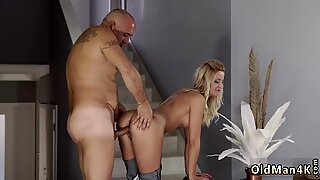 Old man young Finally at home, finally alone! - Summer Brooks
