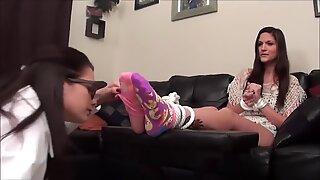 Lesbian foot perv scienceist