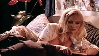 Stacy Valentine in the changing room
