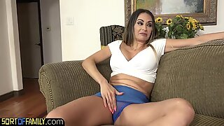 Nasty mom in law seduces younger cock