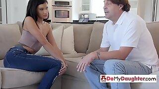 Eden s sins get her and her BFF banged by their naughty daddies