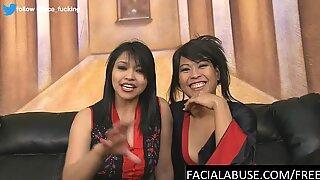 Asians Mika Tan and Max Mikita play