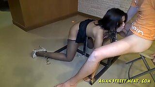 Fresh Clean Thai Girl With Jiggly Titties
