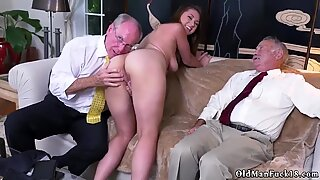 Mature old homemade first time Ivy impresses with her enormous melons and ass