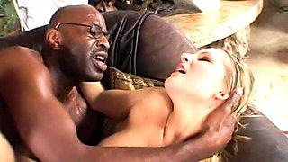 Hardcore interracial anal drilling action starring Liz Honey