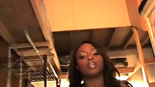 Young Jada Fire has troubles pleasing bunch of hung white pervs