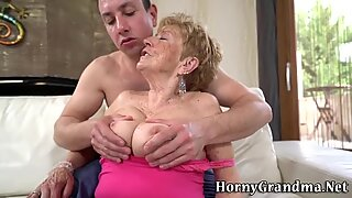 Pensioner gets mouthful