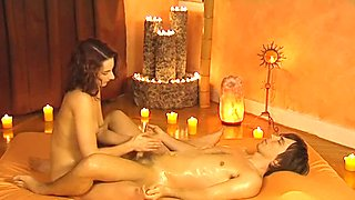 Lingham Massage Is Erotic Handjob